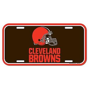 Wincraft NFL License Plate - Cleveland Browns