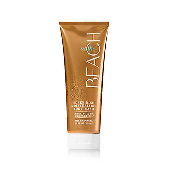 Bad & Body werkt op het strand Super Rich hydraterende Body Wash 10 fl oz/295 ml (2 pack)