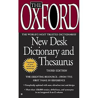 The Oxford New Desk Dictionary and Thesaurus (3rd) by Berkley Publish