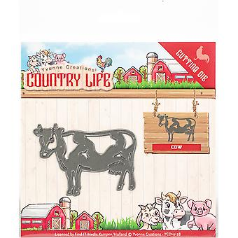 Find It Trading Yvonne Creations Die-Cow, Country Life