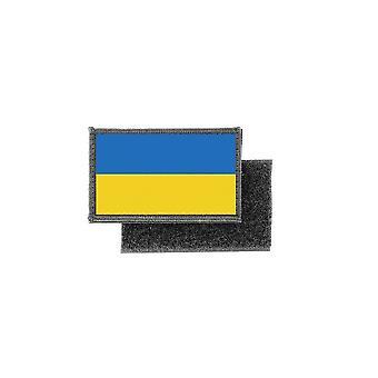 Patch ecusson imprime badge drapeau ukraine ukrainien