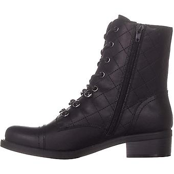 G by Guess Womens Meera Cap Toe Ankle Combat Boots