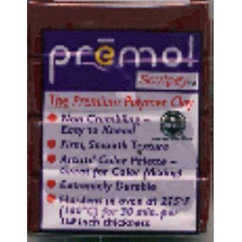 Premo Sculpey Polymer Clay 2 Ounces Alizarin Crimson Pe02 5383