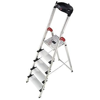 Hailo Aluminum ladder Xxl Easyclix (3 Steps) (DIY , Tools , Stairs and stools)