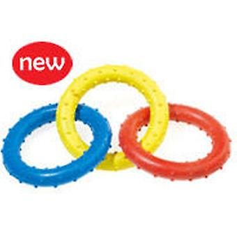 Classic For Pets Triple Ring Rub Tug 190mm