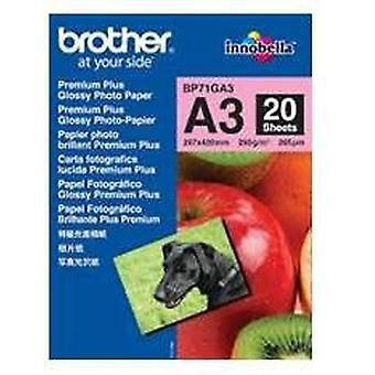 Brother Glossy photo paper a3 bp71ga (Home , Electronics , Printing , Ink)