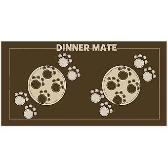 Middag Mate brun 40x60cm
