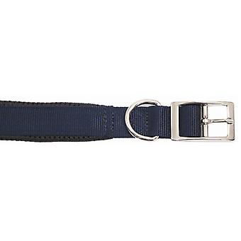 Classic Soft Protection Nylon Padded Collar N/blue 20x3/4