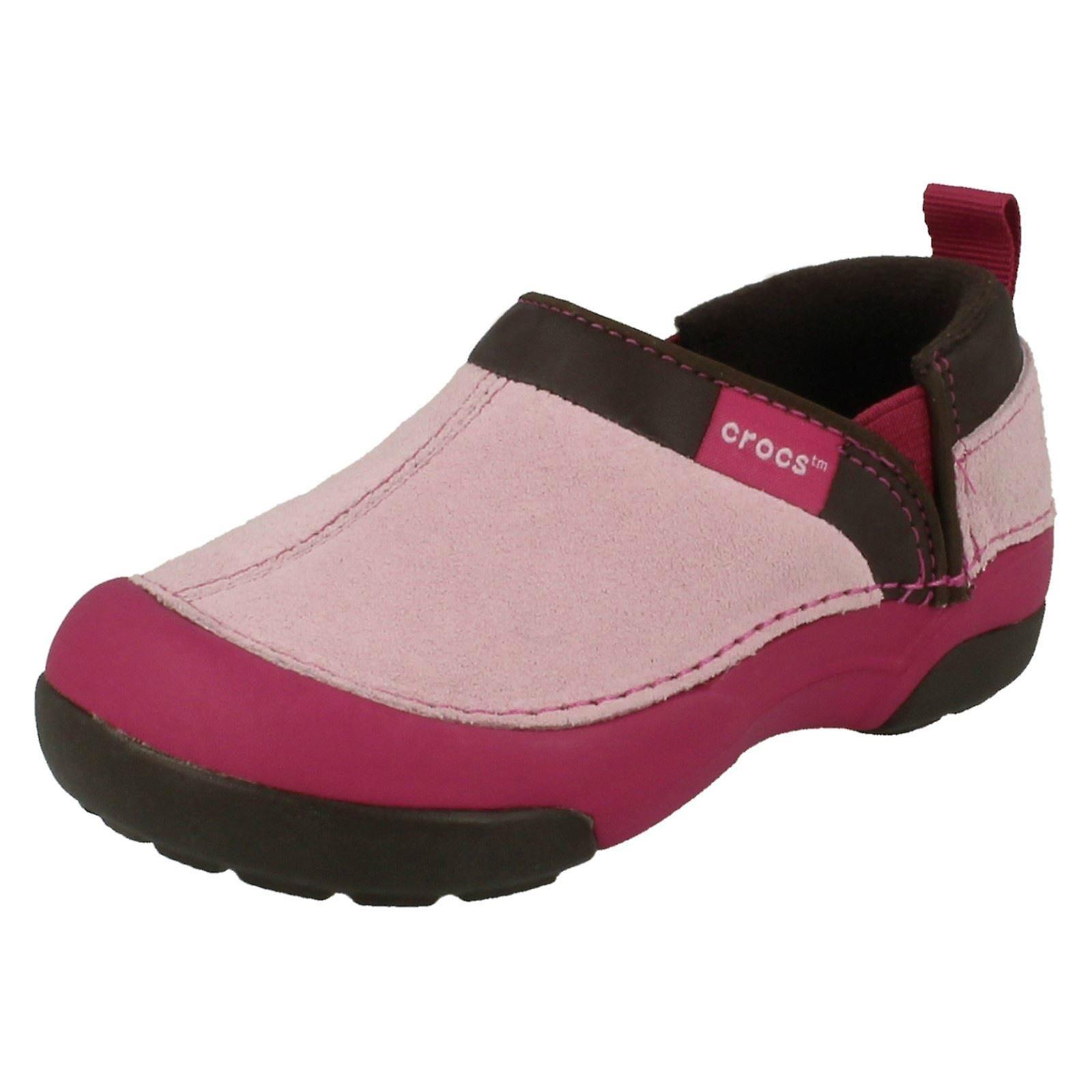 Girls Crocs Casual Flat Cunning Slip On Shoes Cunning Flat Cameron 415ecb