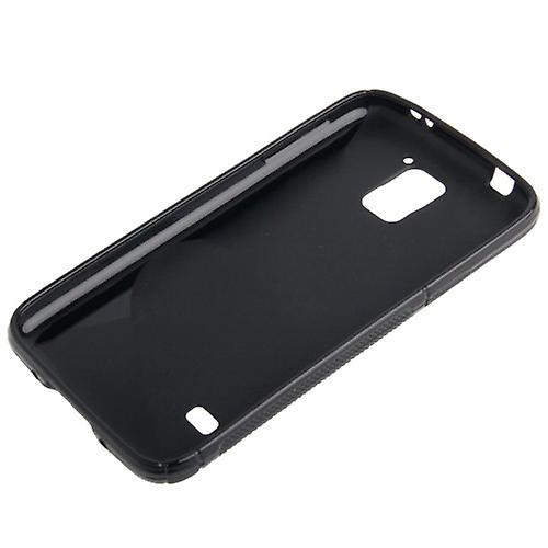 S-line silicone case black for Samsung Galaxy S5 mini