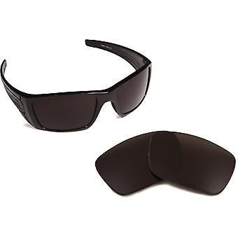 New SEEK Polarized Replacement Lenses for Oakley FUEL CELL Black Silver Mirror