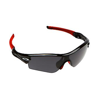 Ny søge optik gummi Kit Earsocks næse puder for Oakley RADAR PITCH - rød