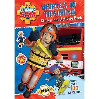 Fireman Sam: Heroes in Training Sticker Activity Book (Paperback)