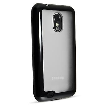 Technocel Hybrigel Protective Case Cover Samsung Epic Touch 4G (Black/clear) - S