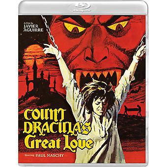 Grev Draculas store kærlighed [Blu-ray] USA importerer