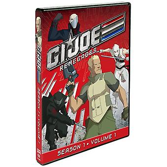 G.I. Joe : Renegades Vol. 1-saison 1 [DVD] USA import