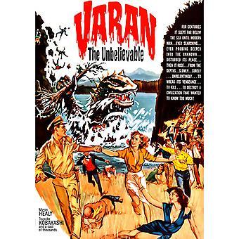Zaimportować Varan niewiarygodne [DVD] Stany Zjednoczone Ameryki