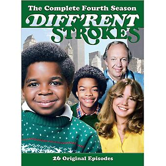 Diff'Rent Strokes - Different Strokes-Season 4 [DVD] USA import