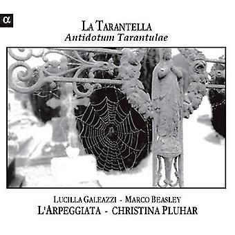 La Tarantella-Antidotum Tarantulae (Musik von - La Tarantella: Antidotum Tarantulae [CD] USA Import