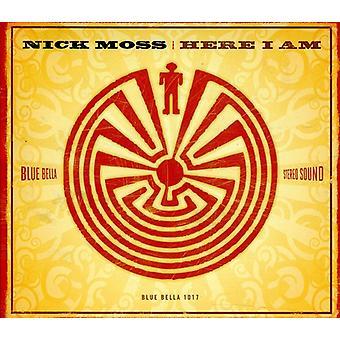 Nick Moss - her jeg er [CD] USA importerer