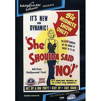 She Shoulda Said No (1949) [DVD] USA import