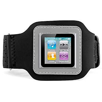 DIGIFLEX Black Sport Armband Case for Apple iPod Nano 6th Gen