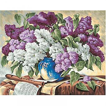 Schipper Premium Paint By Numbers Bunch Of Lilacs
