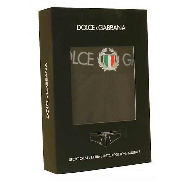 Dolce & Gabbana Sport Crest Midi kort, Navy
