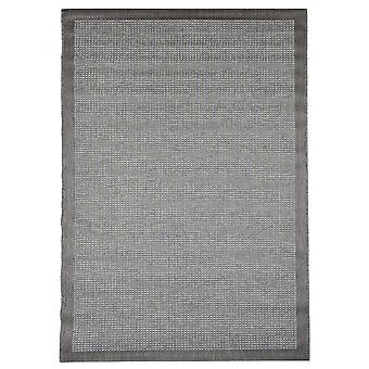 In- en outdoor carpet balkon / huiskamer van Essentials chroom grijs 135 x 190 cm