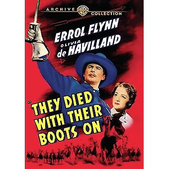 They Died with Their Boots on (1941) [DVD] USA import