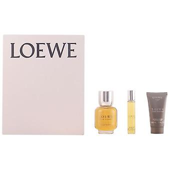 Loewe Homme Pack 3 Pieces (Man , Perfumes , Gift Wraps)