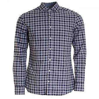 Hackett Melange Gingham Mens Shirt (AW16)