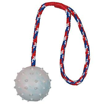 Trixie Ball With Rope, Natural Rubber (Dogs , Toys & Sport , Balls)