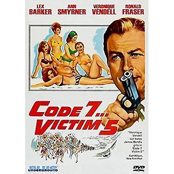 Kode 7 offer 5 [DVD] USA importerer