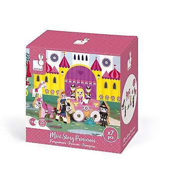 Janod hölzerne Mini Story Prinzessinnen 3-6 Jahre