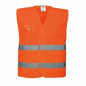Portwest - Hi-Vis Safety Workwear Half Mesh Vest