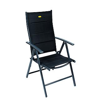 Camp 4 Ischia Mega Comfort Dark Frame Reclining Camping Chair