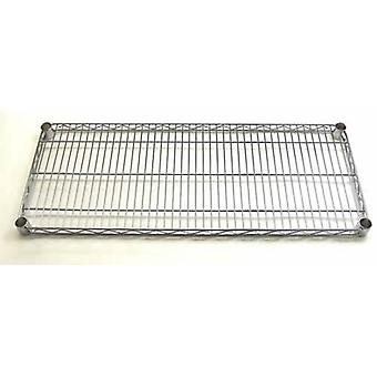 60 wide chrome finish shelf from Caraselle