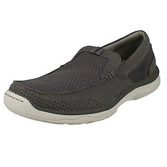 Mens Clarks Casual Slip On Shoes Marus Step