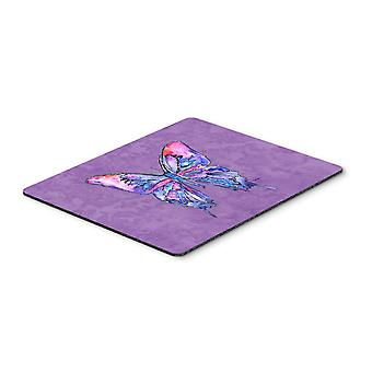 Carolines Treasures  8860MP Butterfly on Purple Mouse Pad, Hot Pad or Trivet