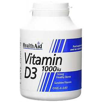 Health Aid Vitamin D3 1000iu  1000 Tablets