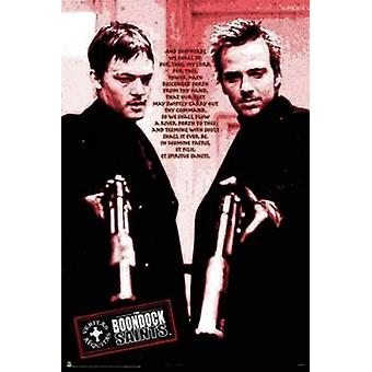 The Boondock Saints Red Poem Poster Poster Print