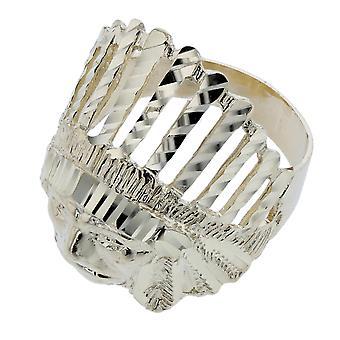 10 k Gelb Gold Native American Ring Indian Chief Tribal Kopf großer Ring