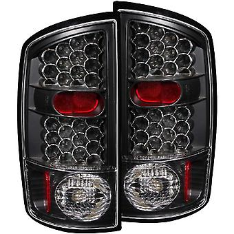 Anzo USA 311018 Dodge Ram Schwarz LED Tail Light Assembly - (paarweise)