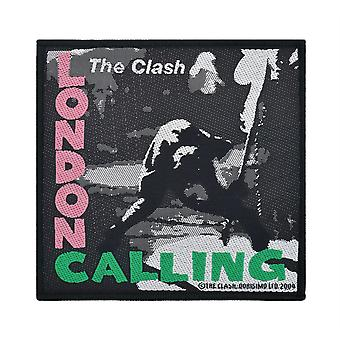The Clash London Calling Woven Patch