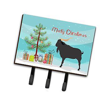 Каролинских сокровища BB9249TH68 Verata коза Рождество поводок или обладатель ключа