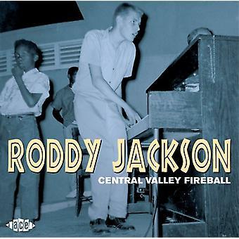 Roddy Jackson - Central Valley Fireball [CD] USA import