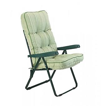Glendale Cotswold Stripe Cushioned Recliner Chair
