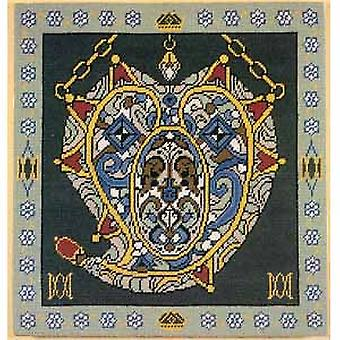 Mary Queen of Scots - Pendant Needlepoint Kit