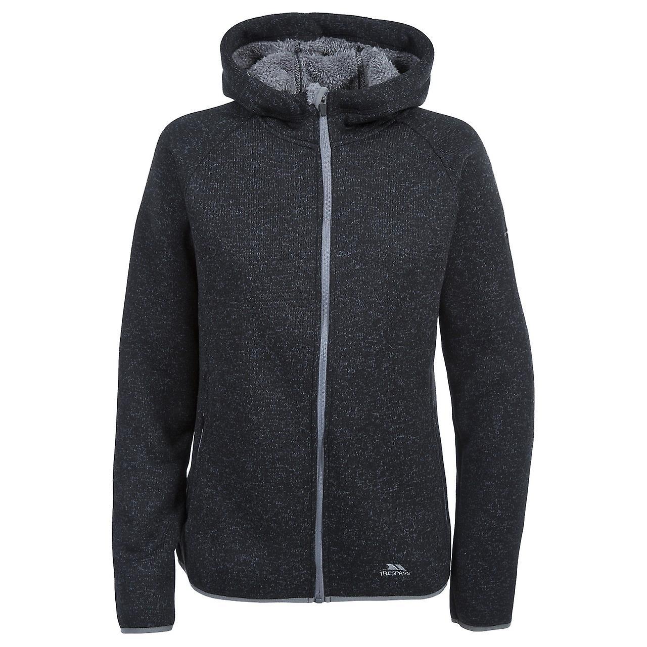 Trespass Womens/Ladies Valeo Full Zip Fleece Hoodie Jacket